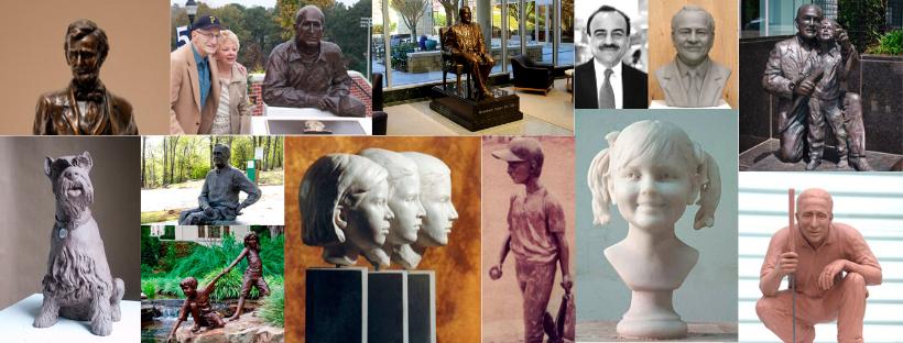 Bronze Portraits in Atlanta