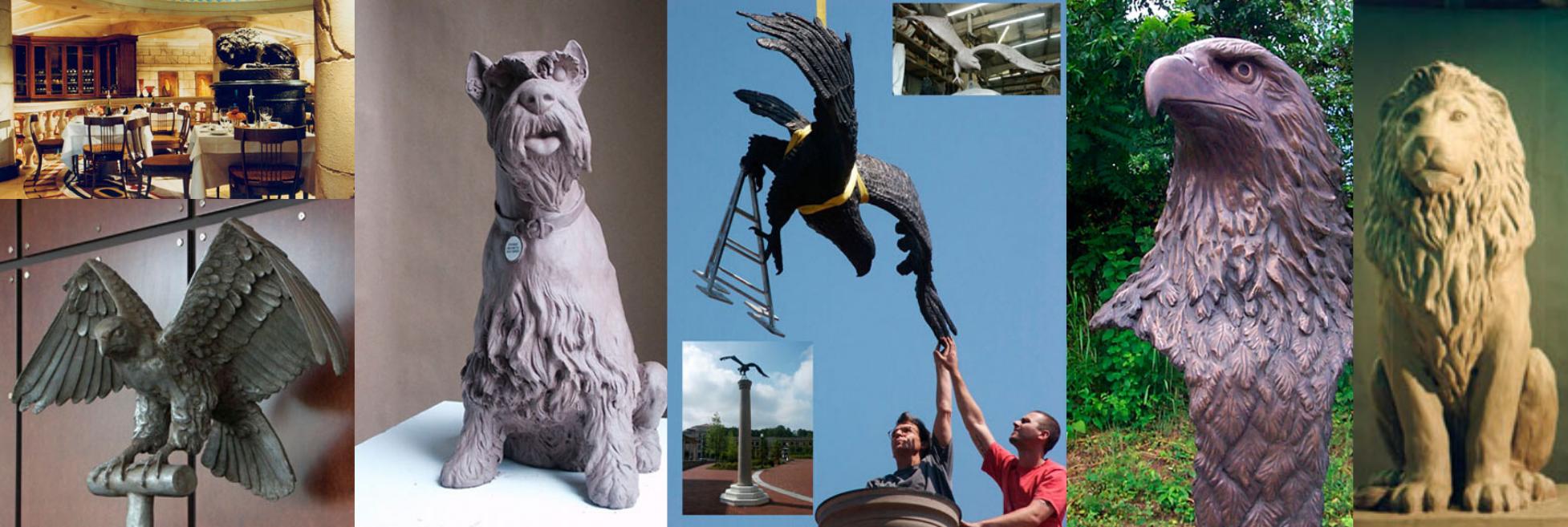 Wildlife Sculptures in Atlanta, GA