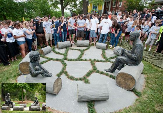 Custom Bronze Sculpture for the Galloway School in Atlanta, GA